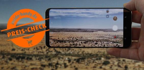 Preischeck Samsung Galaxy S8+