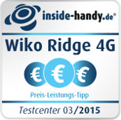 Preis-Leistungs-Siegel Wiko Ridge 4G