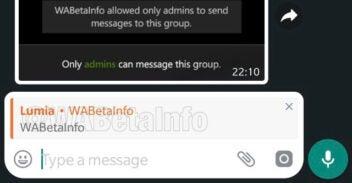 Neues WhatsApp-Feature zum privat Antworten auf einem Screehnshot.