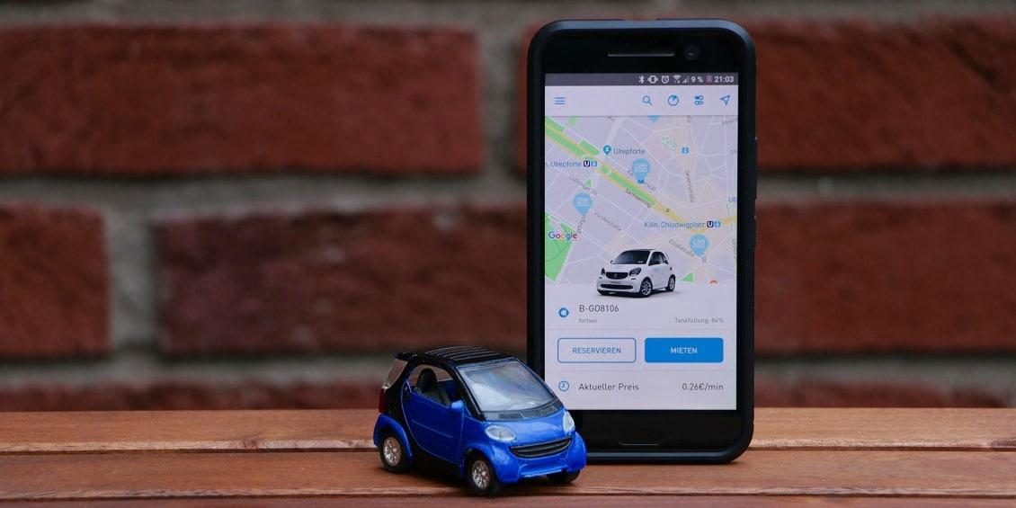Private und gewerbliche Carsharing-Dienste