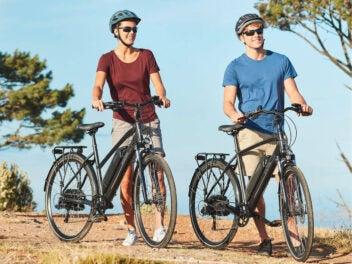 Trekking E-Bike von Prophete bei Aldi