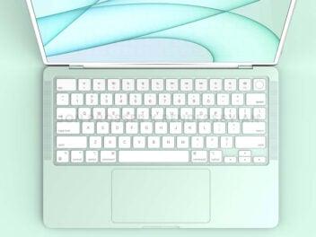 Renderbild eines angeblichen MacBook Air