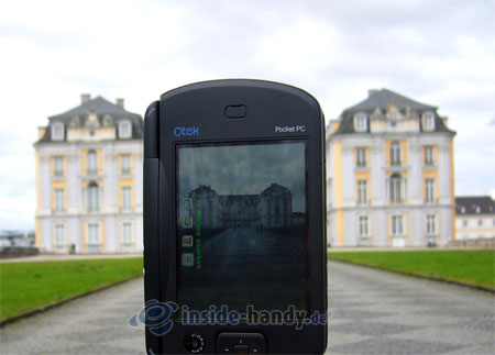 Qtek 9000 - beim Fotografieren