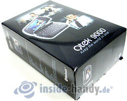 Qtek 9000: Verpackung