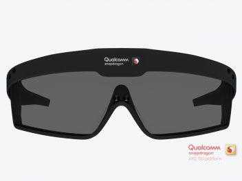 Qualcomm Snapdragon XR2 in einer Brille
