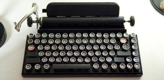 Qwerkywriter: Tastatur in Schreibmaschinen-Optik für das Tablet
