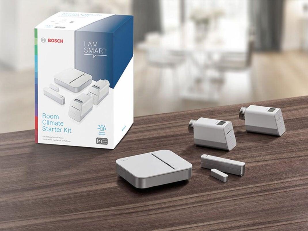 Raumklima-Paket von Bosch Smart Home