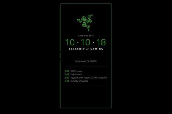 Einladung zur Vorstellung des Razer Phone 2