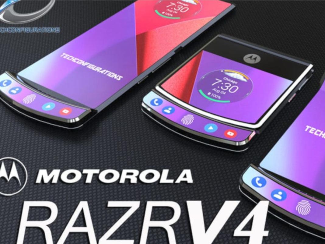 Motorola RAZR V4 Konzept
