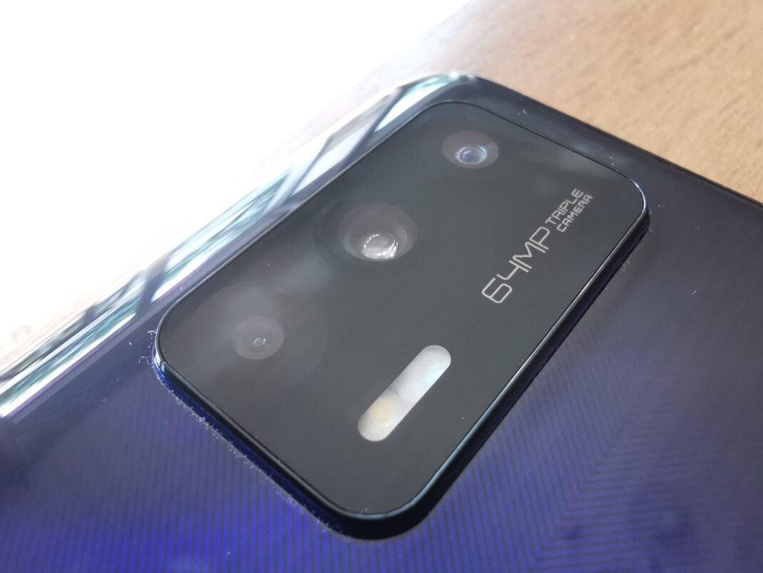 Die Triple-Kamera des realme GT 5G im Detail
