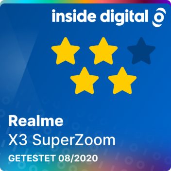 Realme X3 Superzoom Testsiegel