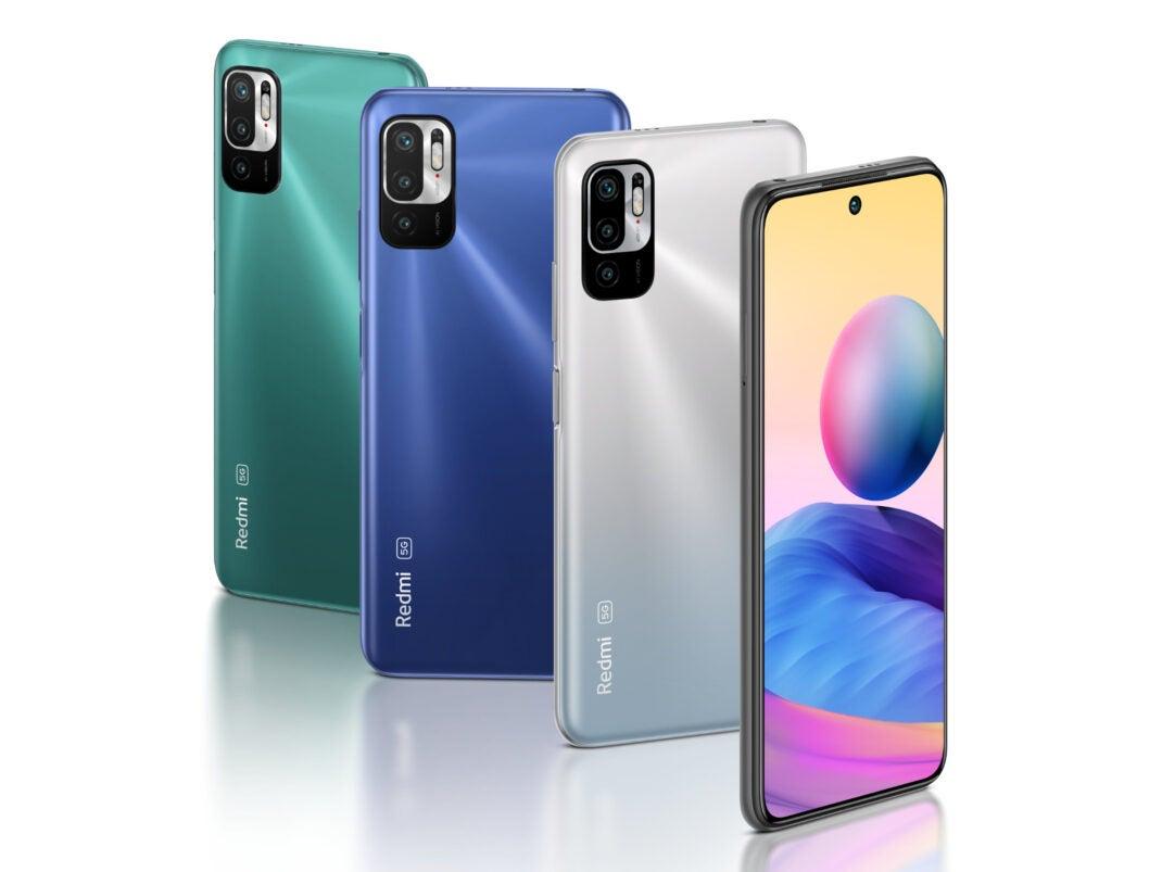 Redmi Note 10 5G in allen Farben