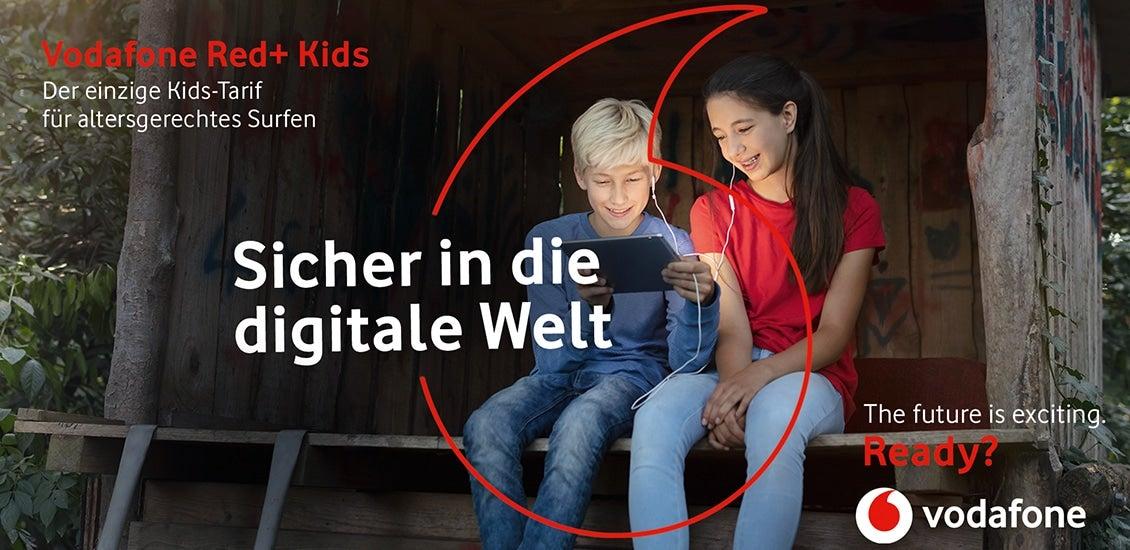 Red+ Kids Logo
