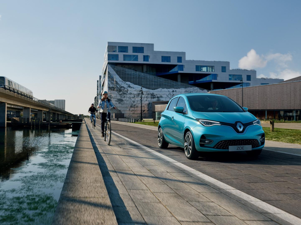 Renault Zoe Modelljahr 2019