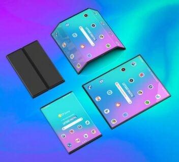 Renderbild faltbares Smartphone Xiaomi