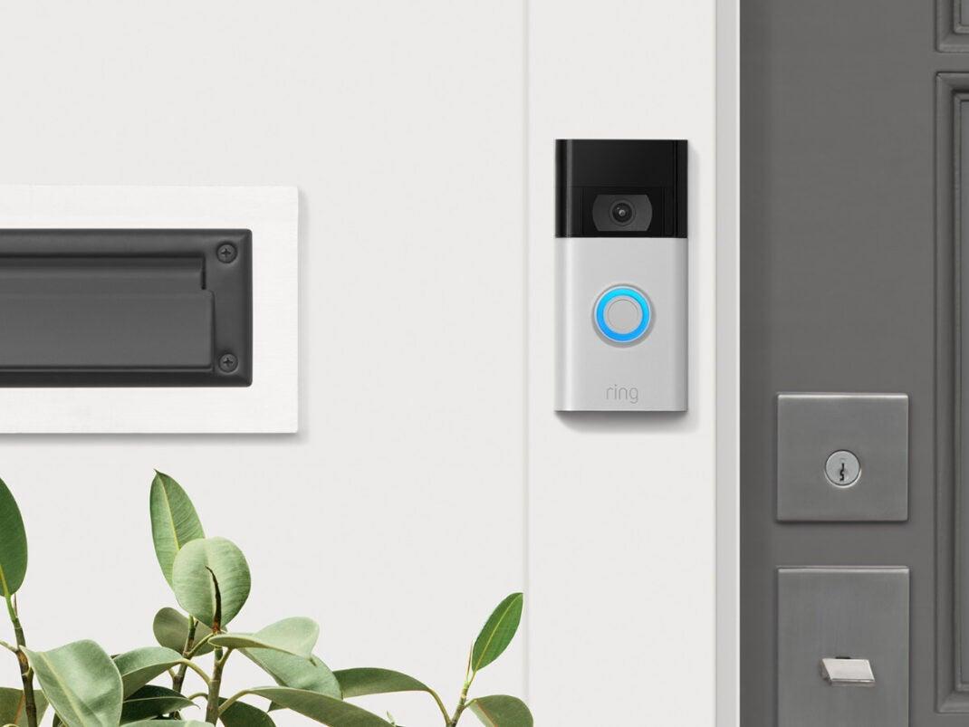 ring Video Doorbell für das Smart Home.