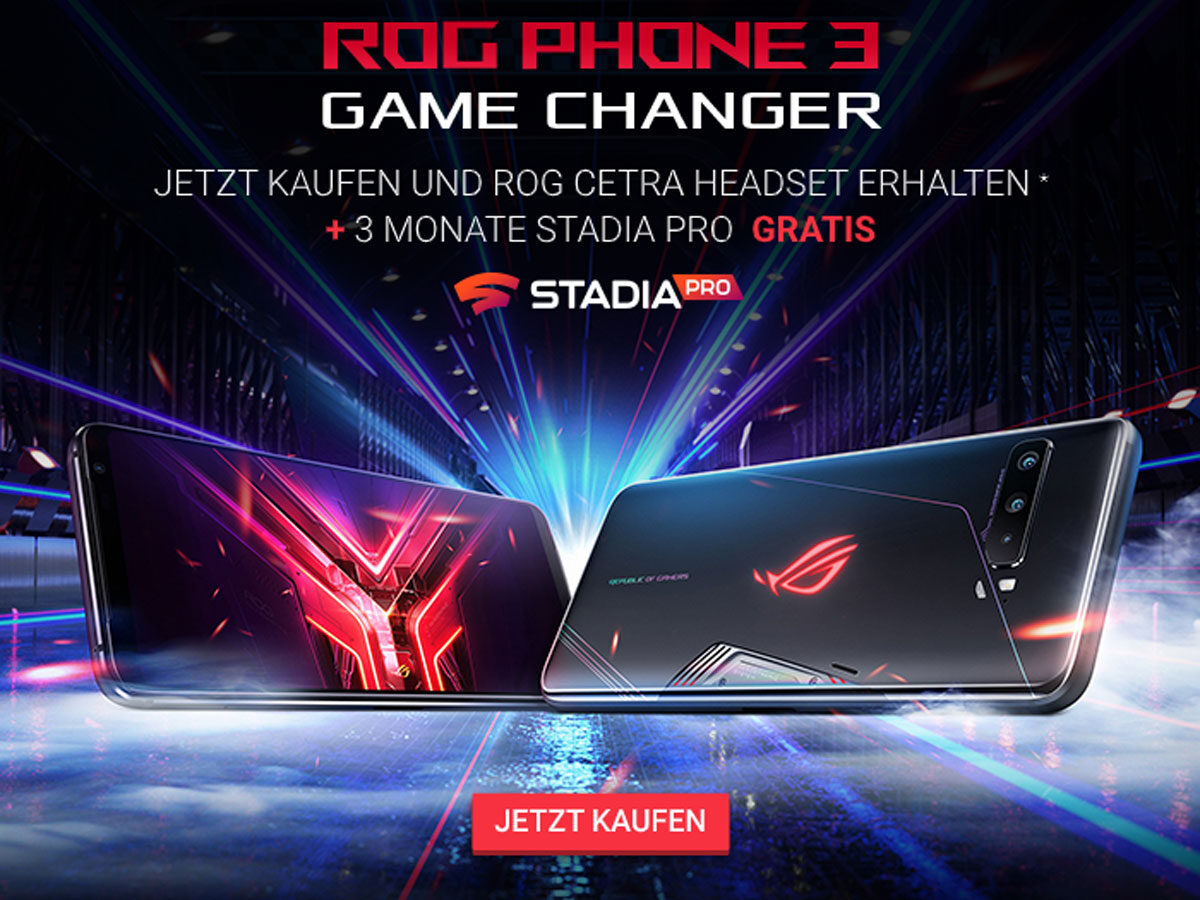 Launch-Aktion zum Asus ROG Phone 3