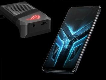 Das Asus ROG Phone 3 mit Lüfter