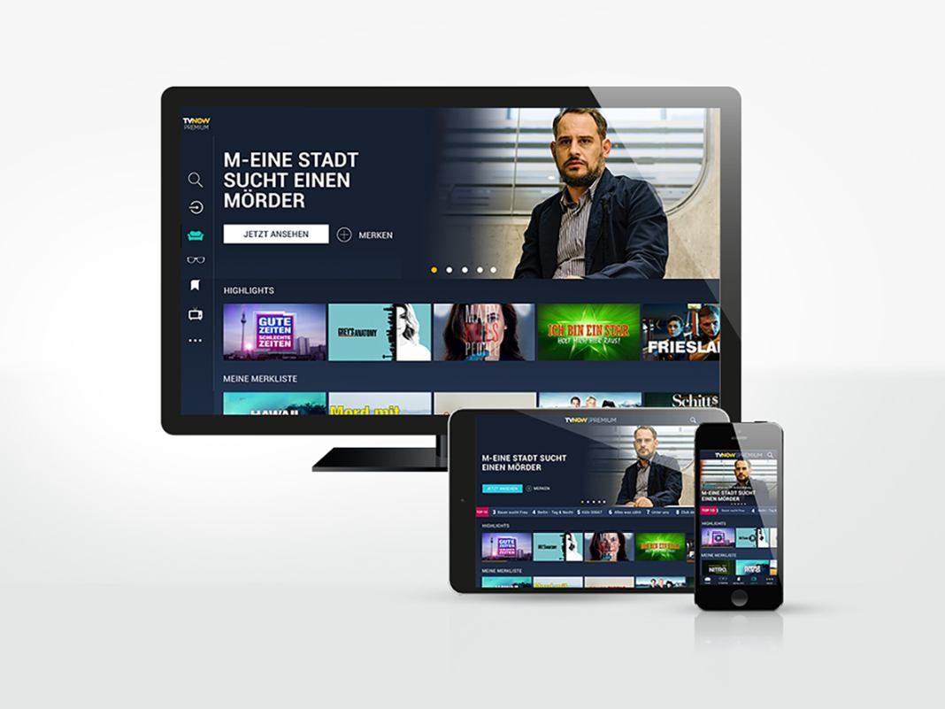 TV Now von RTL auf mobilen Endgeräten