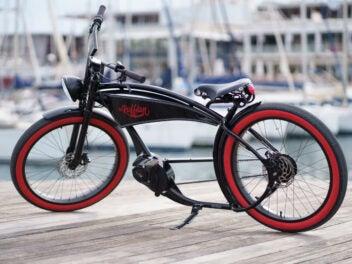 Ruff Cycles: The Ruffian - ein E-Bike in Chopper-Optik