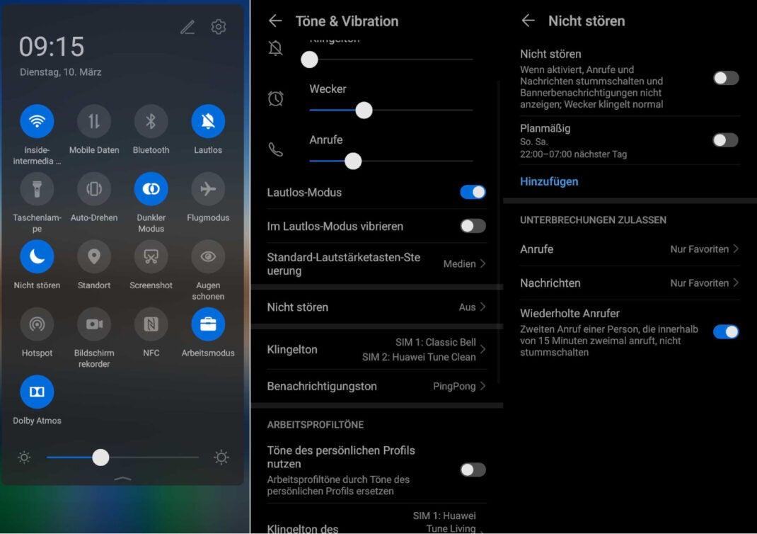 Bitte-nicht-Stören-Modus Android