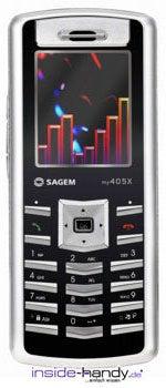 Sagem my405X Datenblatt - Foto des Sagem my405X