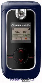 Sagem my900C Datenblatt - Foto des Sagem my900C