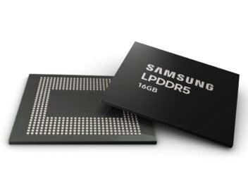 Speicherchip von Samsung