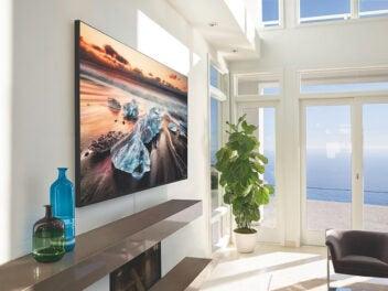 Samsung-Fernseher mit 8K, QLED und bis zu 98 Zoll