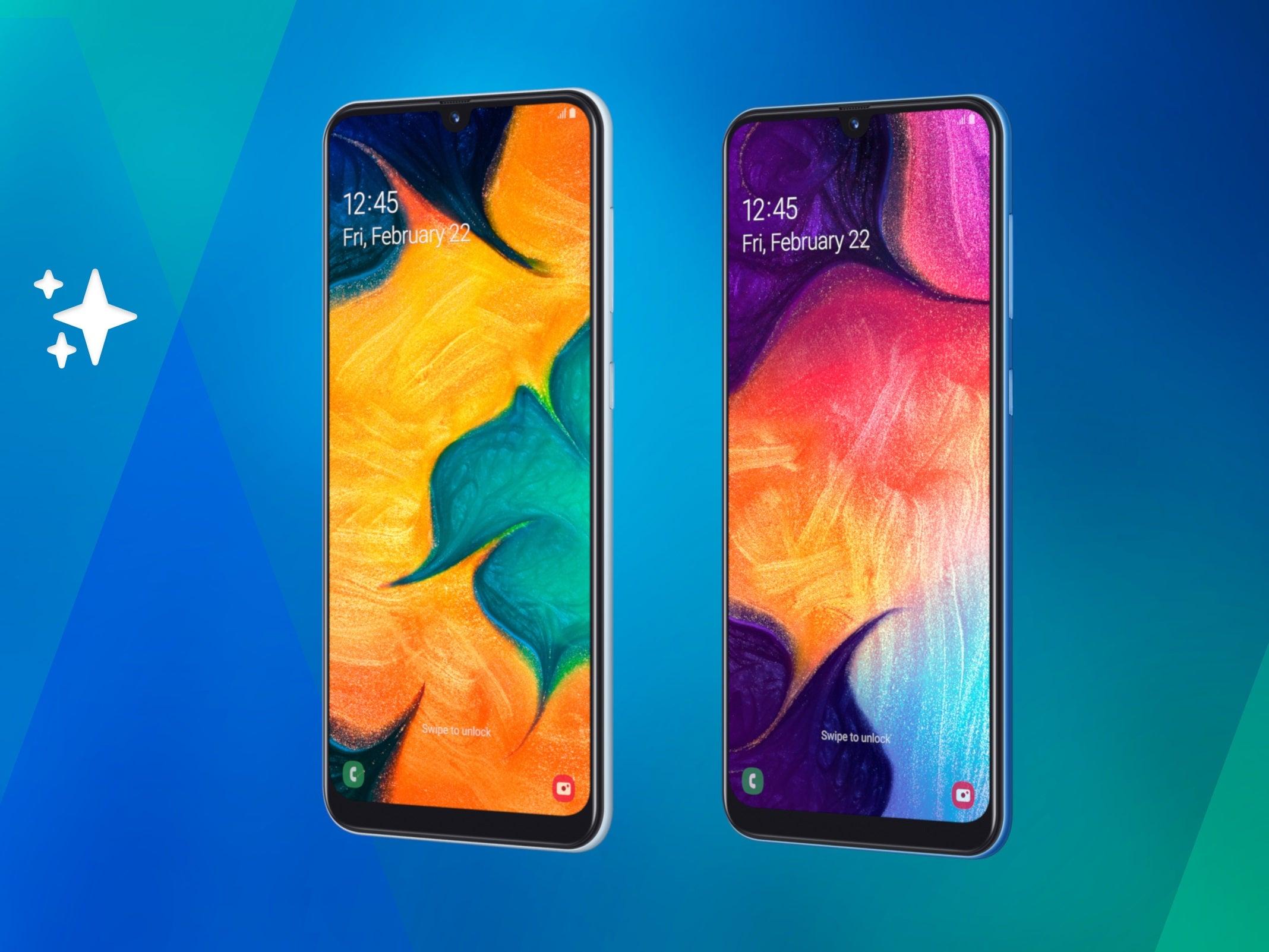 Samsung Galaxy A50 und Galaxy A30 vorgestellt