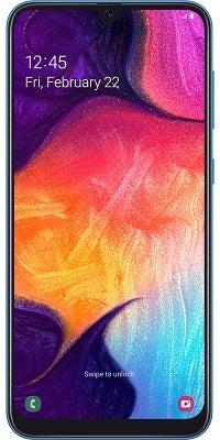 Das Smartphone Samsung Galaxy A50