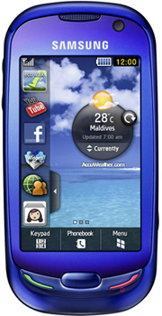 Samsung Blue Earth Datenblatt - Foto des Samsung Blue Earth