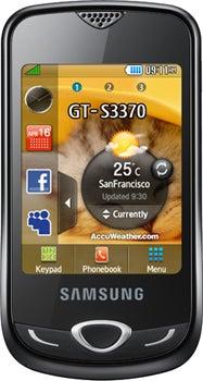 Samsung Corby 3G Datenblatt - Foto des Samsung Corby 3G