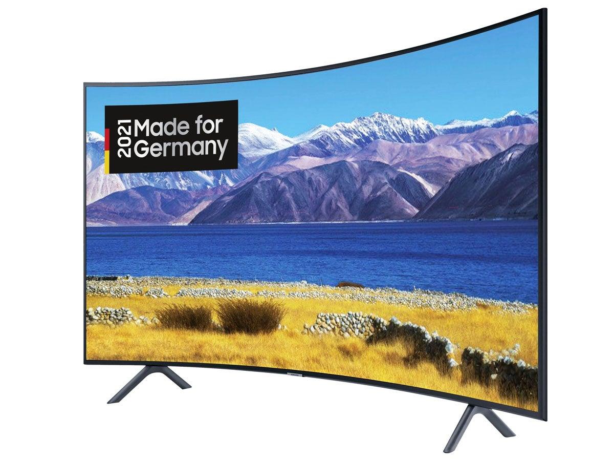 Samsung Fernseher im Curved-Design