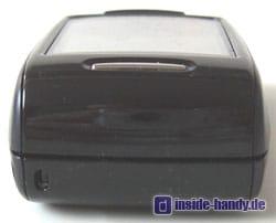 Samsung D500 - Oberseite