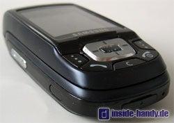 Samsung D500 - seitlich unten