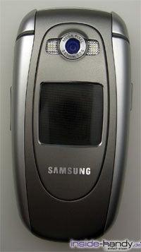 Samsung e620 - Kamera