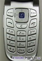 Samsung e620 - Tastatur