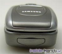 Samsung e620 - von unten