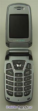 Samsung e720 - aufgeklappt