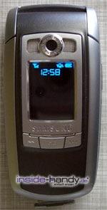 Samsung e720 - Außendisplay