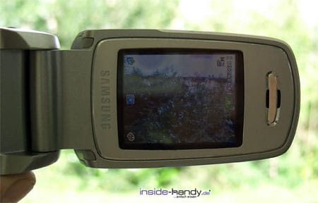 Samsung e720 - Display