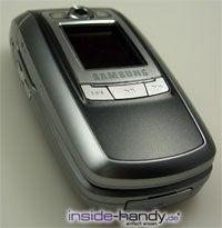 Samsung e720 - draufsicht