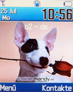Samsung e720 - Hintegrundbild