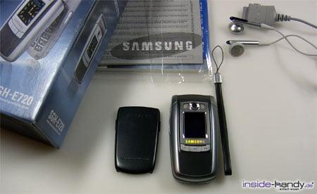 Samsung e720 - Lieferumfang