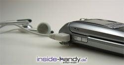 Samsung e720 - mit Kopfhörern