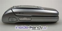 Samsung e720 - seitlich