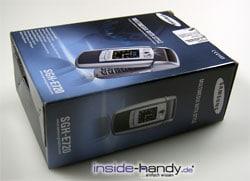 Samsung e720 - Verpackung