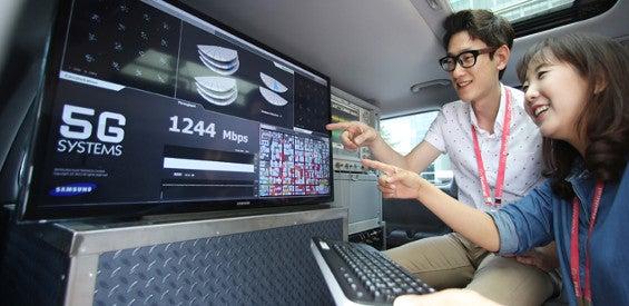 Samsung entwickelt 5G-Netze