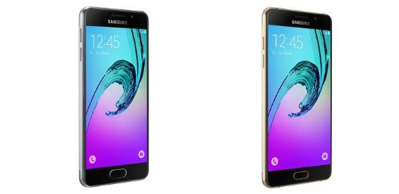 Samsung Galaxy A3 (2016) und Samsung Galaxy A5 (2016)